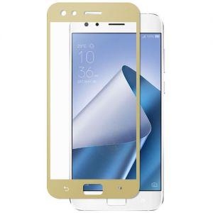 Защитное стекло для ASUS ZenFone 4 Pro ZS551KL [на весь экран] (золотистое)