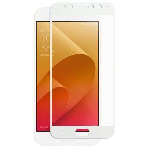 Защитное стекло для ASUS ZenFone 4 Selfie Pro ZD552KL [на весь экран] (белое)