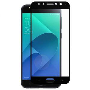 Защитное стекло для ASUS ZenFone 4 Selfie Pro ZD552KL [на весь экран] (черное)
