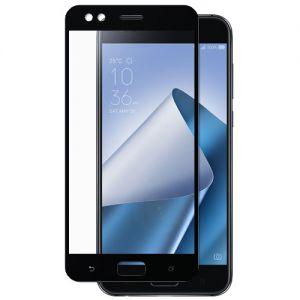 Защитное стекло для ASUS ZenFone 4 ZE554KL [на весь экран] (черное)