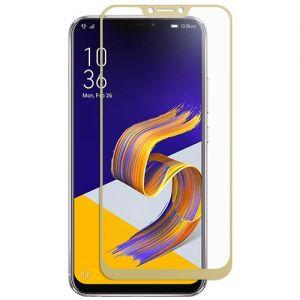 Защитное стекло для ASUS ZenFone 5 ZE620KL [на весь экран] (золотистое)