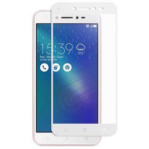Защитное стекло для ASUS ZenFone Live ZB501KL [на весь экран] (белое)