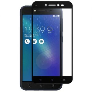 Защитное стекло для ASUS ZenFone Live ZB501KL [на весь экран] (черное)
