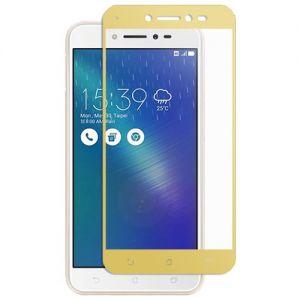 Защитное стекло для ASUS ZenFone Live ZB501KL [на весь экран] (золотистое)