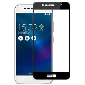 Защитное стекло для ASUS ZenFone 3 Max ZC520TL [на весь экран] (черное)