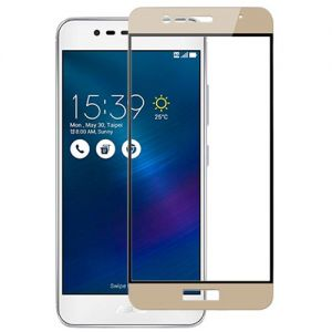 Защитное стекло для ASUS ZenFone 3 Max ZC520TL [на весь экран] Aiwo (золотистое)