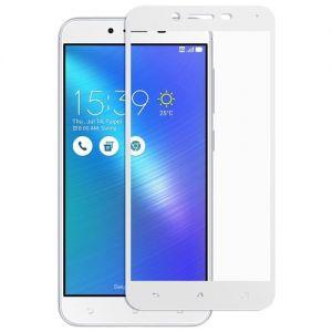 Защитное стекло для ASUS ZenFone 3 Max ZC553KL [на весь экран] (белое)