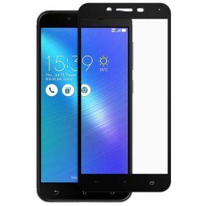 Защитное стекло для ASUS ZenFone 3 Max ZC553KL [на весь экран] (черное)