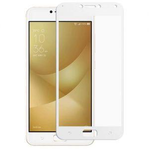 Защитное стекло для ASUS ZenFone 4 Max ZC554KL [на весь экран] (белое)