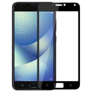 Защитное стекло для ASUS ZenFone 4 Max ZC554KL [на весь экран] (черное)