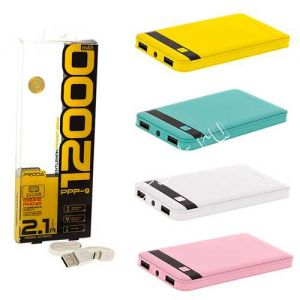 Внешний аккумулятор Remax Proda Gentleman 12000 mAh [2 USB 1000/2100mA]