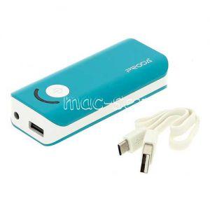 Внешний аккумулятор Remax Proda Jane 6000 mAh [USB 1000mA] (бирюзовый)