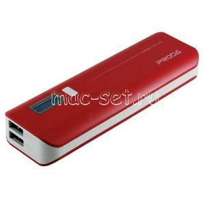 Внешний аккумулятор Remax V6i Proda Jane Series 10000 mAh [2 USB 1000/2100mA] (красный)