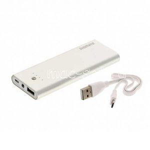 Внешний аккумулятор Remax Vanguard Series RPP-23 5500 mAh [USB 1500mA] (серебристый)
