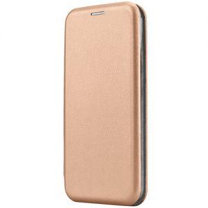 Чехол-книжка кожаный для Huawei Honor 7X (розовый) Book Case Fashion
