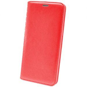 Чехол-книжка кожаный для Huawei Honor 7C (красный) Book Case New