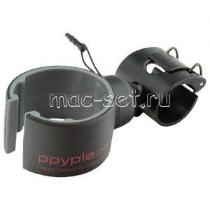 Велодержатель для телефона на руль Ppyple Bike-Wrap5 раздвижной (черный)