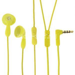 Гарнитура Remax Candy 301 вставная [RM-301] (желтая)