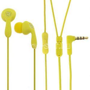 Гарнитура Remax Candy 505 внутриканальная [RM-505] (желтая)