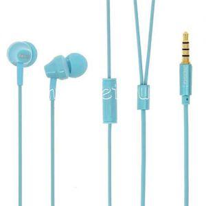 Гарнитура Remax RM-501 внутриканальная (голубая)