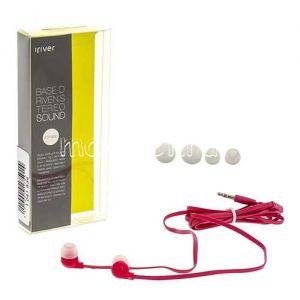 Наушники iRiver ICP-900 внутриканальные стерео (розовые)
