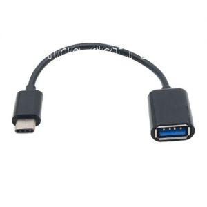 Кабель-переходник USB Type-C - USB OTG (черный)