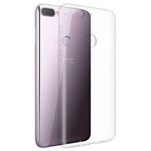 Чехол-накладка силиконовый для HTC Desire 12+ (прозрачный 1.0мм)