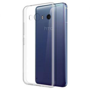 Чехол-накладка силиконовый для HTC U11 (прозрачный 1.0мм)