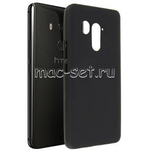 Чехол-накладка силиконовый для HTC U11+ (черный 0.8мм)