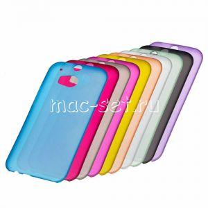 Чехол-накладка пластиковый для HTC One M8 / dual sim ультратонкий