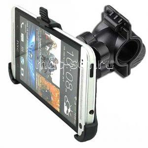 Велодержатель для HTC One M7 на руль (черный)