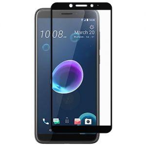 Защитное стекло для HTC Desire 12 [на весь экран] (черное)