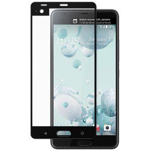 Защитное стекло для HTC U Ultra [на весь экран] (черное)