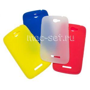 Чехол-накладка силиконовый для HTC One S