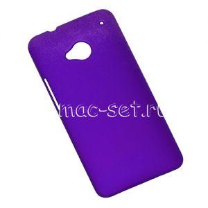 Чехол-накладка пластиковый для HTC One (синий)