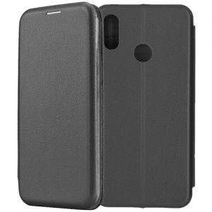Чехол-книжка для Huawei P Smart (2019) (черный) Fashion Case