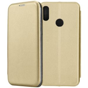 Чехол-книжка для Huawei Honor 8A / 8A Pro (золотистый) Fashion Case