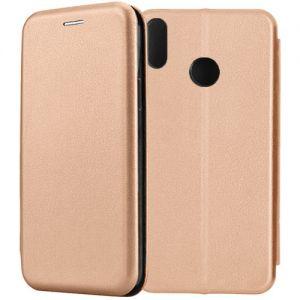 Чехол-книжка кожаный для Huawei Honor 8X (розовый) Book Case Fashion