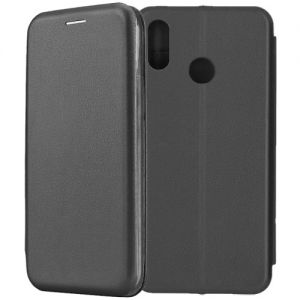 Чехол-книжка для Huawei Honor Play (черный) Fashion Case