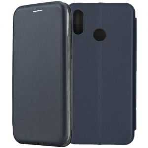 Чехол-книжка для Huawei Honor Play (синий) Fashion Case