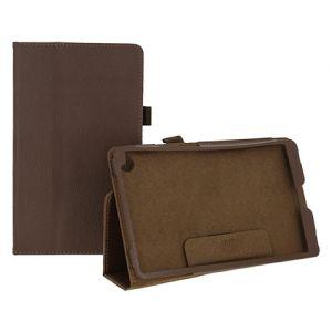 Чехол-книжка для Huawei MediaPad M5 8 (коричневый) Book Case Max
