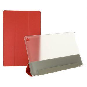 Чехол-книжка для Huawei MediaPad M5 lite (красный) TransCover