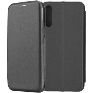 Чехол-книжка для Huawei Y8p (черный) Fashion Case