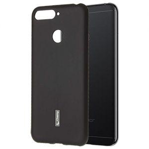 Чехол-накладка силиконовый для Huawei Honor 7A Pro (черный) Cherry