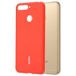 Чехол-накладка силиконовый для Huawei Honor 7A Pro (красный) Cherry