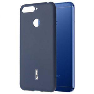 Чехол-накладка силиконовый для Huawei Honor 7A Pro (синий) Cherry