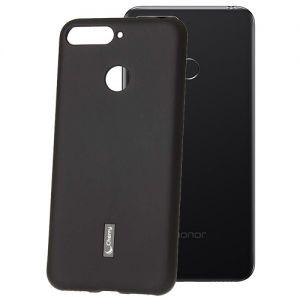 Чехол-накладка силиконовый для Huawei Honor 7C (черный) Cherry