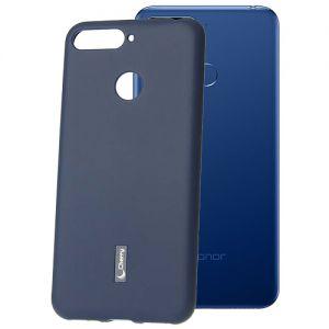 Чехол-накладка силиконовый для Huawei Honor 7C (синий) Cherry