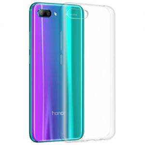 Чехол-накладка силиконовый для Huawei Honor 10 (прозрачный 1.0мм)