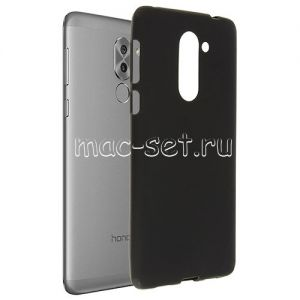 Чехол-накладка силиконовый для Huawei Honor 6X (черный 0.8мм)